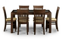 Santiago Wenge Fininsh Table & 6 Chairs
